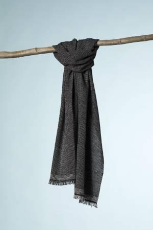 Kashir fil a fil bianco-nero